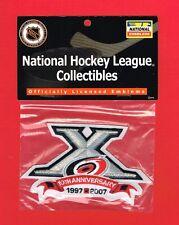 2007 Carolina Hurricanes 10th Anniversary NHL Hockey Patch