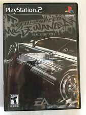 Need for Speed Most Wanted Black - Playstation 2 - Replacement Case - No Game