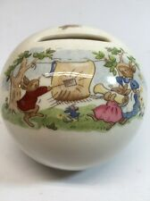 Royal Doulton BUNNYKINS Piggy BANK Excellent with original stopper Fine China