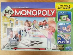 Hasbro My Monopoly Board Game Customize your own - Brand New MINT Sealed