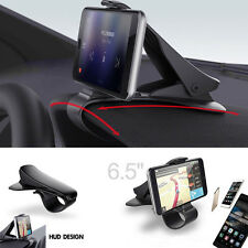 Universal GPS Dashboard Cell Phone Car Mount Holder Stand HUD Design Cradle Clip
