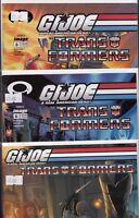 Image Comics G.I. Joe Vs Transformers #1 #6A #6B 2003 Bundle c1.782