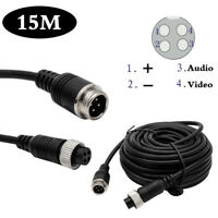 15M 4PIN Extention Cable Waterproof for 4PIN Monitor & Reversing CCD Camera