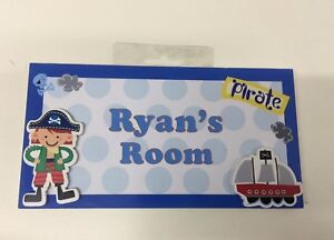 RYAN My Room Sign/Plaque With FREE POSTAGE CLEARING - BRAND NEW