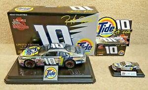 New 1999 Racing Champions 1:24 & 1:64 NASCAR Ricky Rudd Tide Chrome Taurus #10