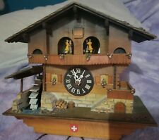 Germany Musical Cuckoo Clock Waterwheel Dancers