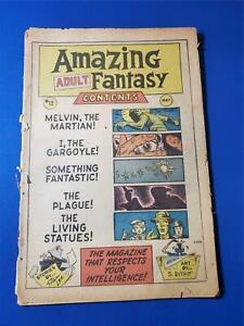 Amazing Adult Fantasy #12 No Cover