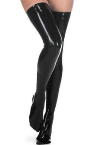 Latex Stockings Rubber Gummi Long Socks Basic Sexy Classic Sweet Customize 0.4mm
