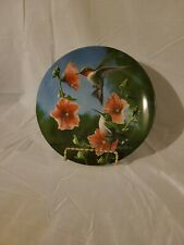 #7 Hummingbird Birds Of Your Garden Collection Kevin Daniel Knowles Plate