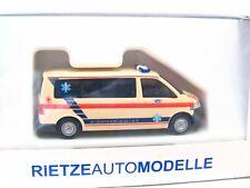 Rietze 1/87 51620 VW T5 KTW Ambulance Vimperk Tschechien OVP (LN634)