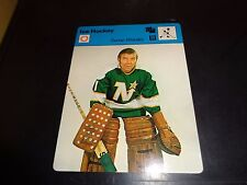 Gump Worsley 1977 Sportscaster Series Recontre Lausanne 06-07 North Stars NM