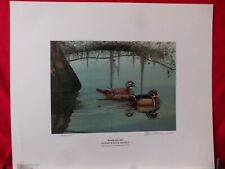 "2002 Ducks Unlimited Sponsor;s Print ""Wood Ducks""  S/N  DavidLanier"