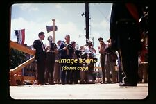 1947 Men w Graflex Camera at Waynesboro, Pennsylvania, Original Slide c1b