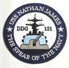 "Last Ship TV Series NATHAN JAMES 3.5"" Uniform Patch- FREE S&H (MIPA-LAST-SHIP)"