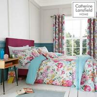 Catherine Lansfield Salisbury Pink Duvet Covers Floral Quilt Cover Bedding Sets