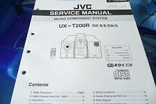 Service Manual-Anleitung für JVC  UX-T200 R,ORIGINAL!
