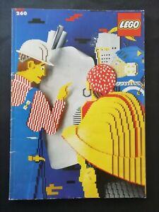 Lego 260 Ideenbuch mit Bauanleitungen und Aufkleber (komplett)