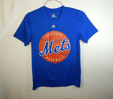 New York Mets MLB Baseball Mens Short Sleeve T Shirt Majestic Size SMALL S