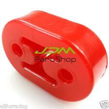 RED 8mm EXHAUST MUFFLER POLY-URETHANE HANGER for AUDI VW ASTRA NISSAN HONDA