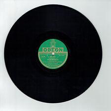78T Marcel MERKES Disque Phono POUR MANOLA Valse Espagnole Chanté ODEON 282227