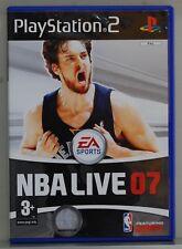 NBA LIVE 07 - PLAYSTATION 2 - PAL ESPAÑA - COMPLETO