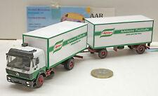 Herpa: MB SK Transporte de bebidas Tren de carretera Merz, Jugos De Frutas