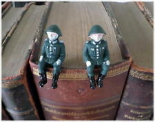 2x East german DDR NVA Toy soldier GDR Army (in Uniform ) jouet soldat RDA