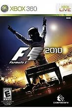F1 2010 Xbox 360 Formula 1 Kids Racing Game Complete Rare F