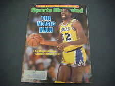 Sports Illustrated  Magazine,May 1985,Steroid Explosion,Magic,NBA Title