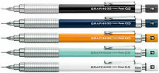 Pentel  GRAPH 600 5 X  PG605  0.5mm Drafting Mechanical Pencil  5 colors set