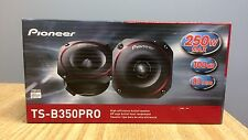 "New Pioneer TSB350PRO 3-1/2"" High Efficiency PRO Series Bullet Tweeters Pair"
