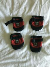 """Ruff Wear Dog Boots Size M 2 1/2"""" Wide Set of 4"""