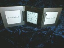 Hampton Inn Small Silver Photo/Clock Estate Sale