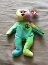 The Beanie Babies TY Peace With Misspelled Error Tag & No Red Stamp