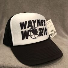 Wayne's World Trucker Hat Garth Old TV Logo Vintage Style Snapback Cap 2191