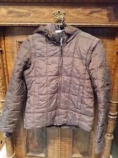 Jacke mit Kapuze Übergangsjacke Funktionsjacke Weste H&M Größe XS braun