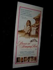 ORIGINAL1975 1ST Release PICNIC AT HANGING ROCK Australia Daybill LINENBACKED