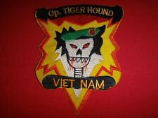 Vietnam War Patch US 5th SFGrp MACV-SOG Operation TIGER HOUND VIETNAM