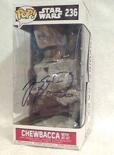 POP Star Wars Chewbacca with AT-ST #236 Signed Joonas Suotamo Beckett COA