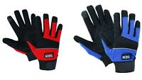 Work Gloves Hand Protection Mechanics Tradesman Farmer's Gardening DIY Builders