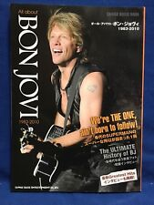 Bon Jovi All About 1983- 2010 Japan Photo Book Jon Richie Sambora Shinko Music