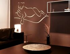 Abstract Panther - Highest Quality Wall Decal Sticker