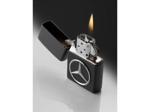 Mercedes-Benz Feuerzeug, schwarz, Zippo, B66953357