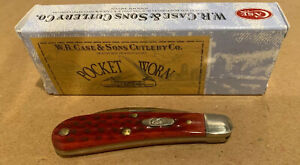 W. R. Case and Sons Pocketknife Sway Back Old Red
