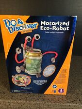 DO & DISCOVER BY EDU SCIENCE MOTORIZED ECO ROBOT NEW SEALED!
