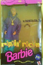 Rappin Rockin Ken Used in Original Box Barbie Mattel