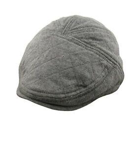Baby kids Boys Warm Grey Beret handsome Cabbie Golf Pageboy Hat Cap 3-9m