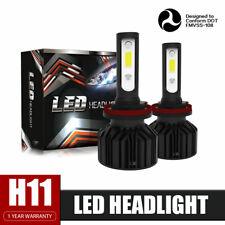 H11 LED Headlights Kit Plug&Play 6000K for Hyundai ELANTRA 2013-2016 Low Beam