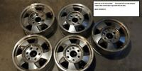 Stock OEM Chevy Silverado wheels  Set of (5) - BEST OFFERS!!