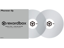 Pioneer RB-VD1-CL control vinyl for Rkord box Clear Pair